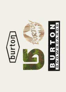 Burton Throwback Sticker Pack