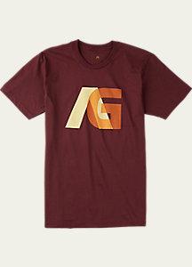 Men's Analog Overlay Short Sleeve T Shirt