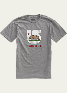 Burton California Flag Short Sleeve Slim Fit T Shirt