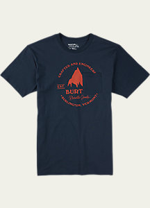 Burton Gristmill Slim Fit Short Sleeve T Shirt