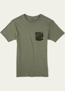 Burton Danhole Slim Fit Short Sleeve Pocket T Shirt