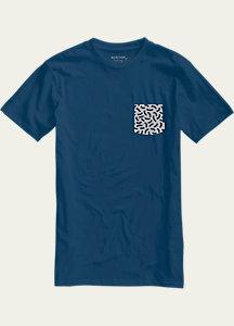 Burton Danhole Slim Fit Short Sleeve Pocket T Shirt