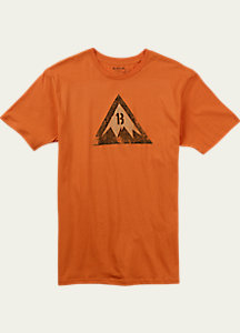 Burton Retro Logo Slim Fit Short Sleeve T Shirt