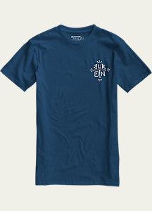 Burton Sanford Slim Fit Short Sleeve T Shirt