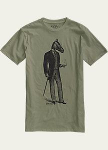 Burton Gentle Horseman Slim Fit Short Sleeve T Shirt