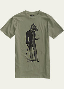 Burton Gentle Horseman Slim Fit Short Sleeve T Shirt