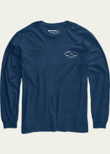 Burton East West Long Sleeve T Shirt