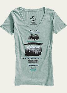 Burton Ferny V-Neck T Shirt