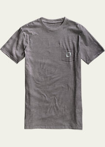 Burton Gym Rat Slim Fit Short Sleeve Pocket T Shirt