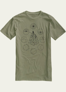 Burton Celestial Slim Fit Short Sleeve T Shirt