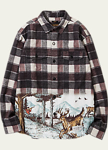 BURTON x NEIGHBORHOOD Long Riders Shirt