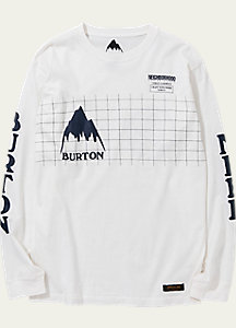 BURTON x NEIGHBORHOOD Grid Long Sleeve T Shirt