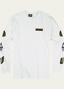 UNDEFEATED x Alpha Industries x Burton Patch Long Sleeve T Shirt