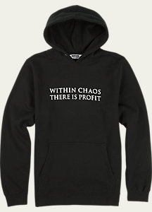 UNDEFEATED x Alpha Industries x Burton Chaos Hoodie