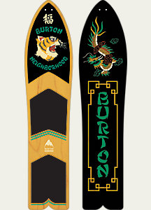 BURTON x NEIGHBORHOOD Throwback Snowboard