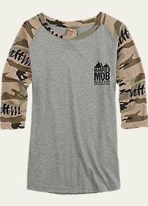 Married to the Mob x Burton Raglan T Shirt