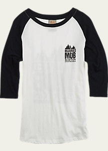 Married to the Mob x Burton Raglan T Shirt