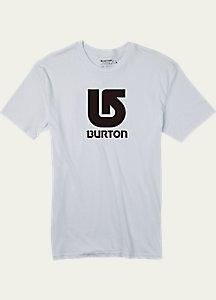 Burton Logo Vertical Slim Fit Short Sleeve T Shirt