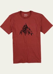 Burton Matterhorn Slim Fit Short Sleeve T Shirt