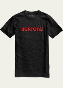 Burton Logo Horizontal Recycled Short Sleeve T Shirt
