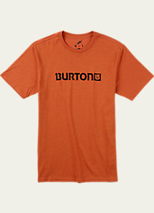 Burton Logo Horizontal Recycled Short Sleeve T Shirt