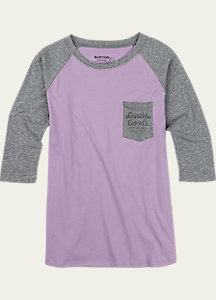 Burton Trusted Raglan T Shirt