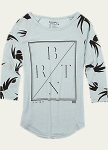 Burton Morton Raglan T Shirt