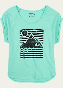 Burton Mountain Sun Rollie Short Sleeve T Shirt