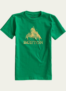 Burton Boys' Stamp Mountain Short Sleeve T Shirt