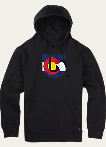 Burton Colorado Flag Process Pullover Hoodie