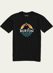 Burton Panorma Slim Fit Short Sleeve T Shirt