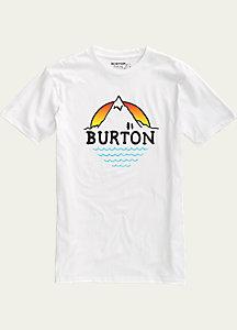 Burton Panorma Slim Fit Short Sleeve T Shirt