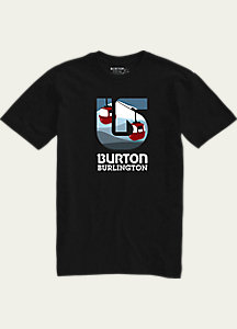 Burton City Process Short Sleeve Slim Fit T Shirt
