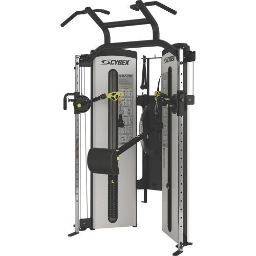 Hoist Multi Gym Mi7 Smith Ensemble: Bravo Advanced All-in-One Functional Trainer