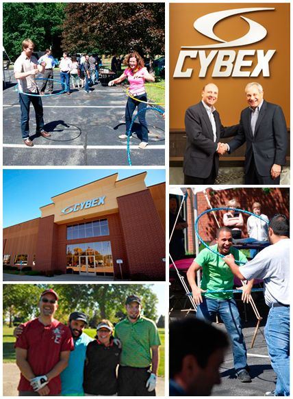 See all the benefits of working at Cybex!
