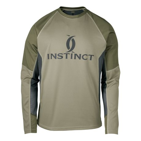 Cabela 39 s instinct precision gear long sleeve shirt for Cabela s fishing shirts