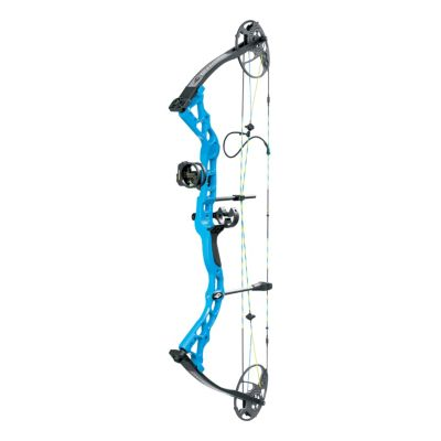 """Diamond by Bowtech Prism Electric Blue Package RH-5-55# 18-30/"""" Draw"""