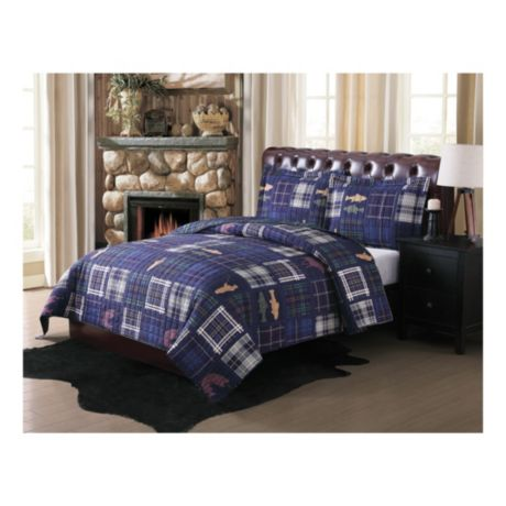 Remington® Morse Brook Three-Piece Quilt Set