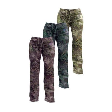 Popular For Hot Shots! Womens Foxy Huntress TM Camo Pants Or Capris Your Choice, BIG BUCKS OFF ! Stylish Womens Wilderness Attire! Get The Camouflage Edge For Backwoods Concealment Or Hit The Streets And Really Stand Out!