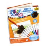 Picture of Wild Republic® Colour and Go Colouring Book Set