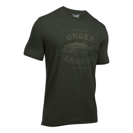 Under armour classic bass short sleeve t shirt cabela 39 s for Under armour shirts canada