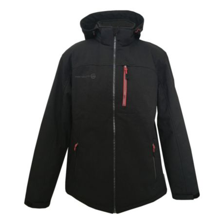 Free Country® Hybrid Insulated Softshell Jacket - Black