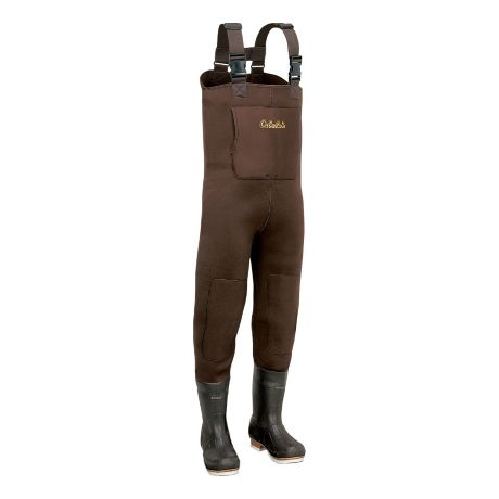 Cabela 39 s 5mm neostretch neoprene chest waders tall for Cabelas fishing waders