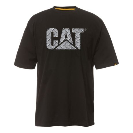 Cat custom diamond plate short sleeve t shirt cabela 39 s for Custom t shirts edmonton