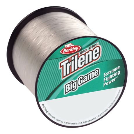 Berkley trilene big game monofilament fishing line for Braided fishing line vs monofilament