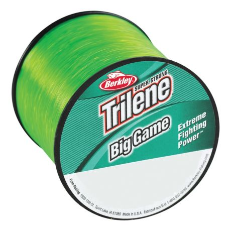 Berkley trilene big game monofilament fishing line for Fishing line test