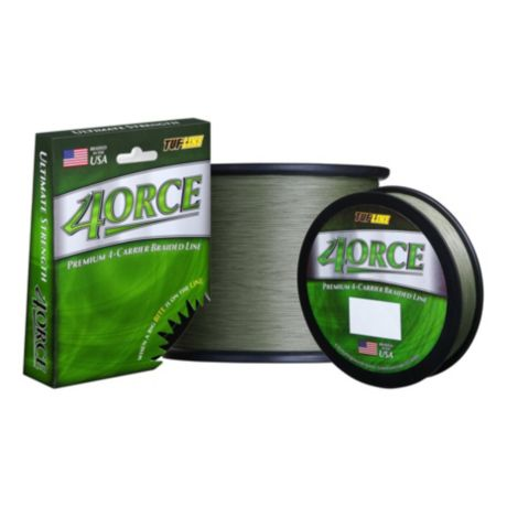 Tuf line 4orce braided fishing line cabela 39 s canada for Cabela s fishing line