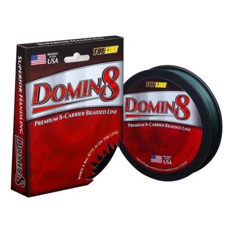 Tuf line domin8 braided fishing line cabela 39 s canada for Cabela s fishing line