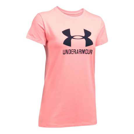 Under armour women s sportstyle crew short sleeve shirt for Under armour shirts canada