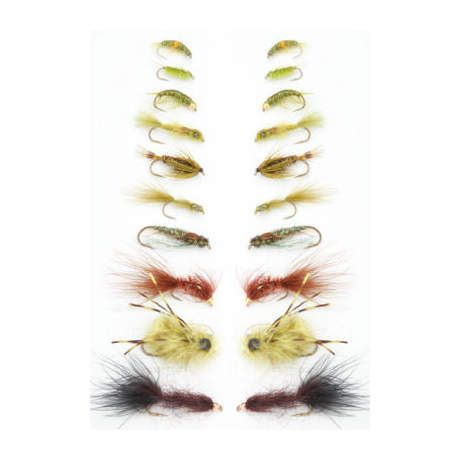 Stillwater Solutions Fly Assortment - 20 Pack